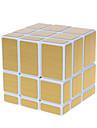 Shengshou® Cube de Vitesse  Alien Miroir Cubes magiques Blanc ABS