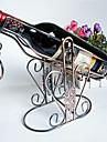 mode konst av hög kvalitet vinställ retro vin hållare heminrednings dekorationer Förkromning