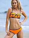 Women\'s Sexy Color Block Neoprene Bikinis Sets