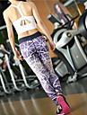 Course / Running Collants Pantalon/Surpantalon Leggings Bas Femme Respirable Sechage rapide Compression Anti-transpiration TactelYoga