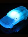 creatif acrylique couleur changeante voiture coloree lumiere de nuit conduit petite lanterne decoration de la maison