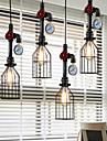 40W-60W Hängande lampor ,  Rustik Målning Särdrag for designers MetallLiving Room / Bedroom / Dining Room / Skaka pennan och tryck på