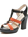 aokang® kvinnors läder sandaler - 132811032