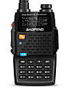 Baofeng UV-5R 4TH Walkie-talkie 5W/1W 128 136-174 mHz / 400-520MHz 2800mAh 1,5-3 kmFM-radio / Röstprompt / Dubbelband / Dubbel display /