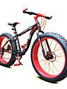 Mountain Bikes Cykelsport 7 Speed 26 tum/700CC 40mm Unisex / Herr / Unisex barn SHIMANO Dubbel skivbroms Springergaffel Monocoque Vanlig