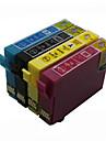 bloom®t1811-t1814 kompatibel bläckpatron till Epson xp-312/315/412/415/225/322/325/422/425 fullt bläck (4 färg 1 set)