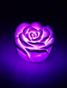 lumiere de nuit acrylique couleur changeante creative rose a conduit la lumiere coloree rose cadeaux amoureux decoration de la maison