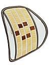 ziqiao chaise de bureau siege auto couverture canape en bambou respirant massage coussin lombaire oreiller accolade coussin lombaire