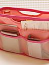 couleur bonbon sacs portables paquet paquet de lavage de forfait d\'admission cosmetiques de voyage finition paquet