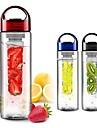 frukt infusion watter flaska citronsaft tillverkare 700ml cap frukt infusions cykel resa skola (slumpvis färg)