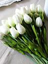 8.0 Gren PU Tulpaner Bordsblomma Konstgjorda blommor