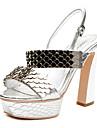 aokang® kvinnors läder sandaler - 342818038