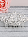 Women\'s Rhinestone Headpiece-Wedding / Special Occasion / Casual / Office & Career / Outdoor Hair Combs 1 Piece