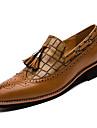 Chaussures Hommes Bureau & Travail / Decontracte / Soiree & Evenement Noir / Marron / Bordeaux Similicuir Sans Fermeture
