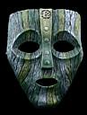 Mask Inspirerad av K Chi Ch Animé Cosplay Accessoarer Mask Grön / Grå Resin Man / Kvinna
