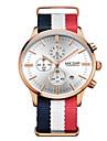 Bărbați Ceas Elegant Quartz Calendar / Cronometru / Ceas Casual Material Bandă Alb Marca
