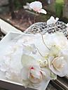 Damen Blumenmaedchen Stoff Netz Kopfschmuck-Hochzeit Besondere Anlaesse Freizeit Kopfschmuck 1 Stueck