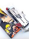 Smycken / Huvudbonad Inspirerad av Naruto Cosplay Animé Cosplay Accessoarer Headband / Halsband / Ring Röd / Silver Legering Man