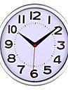 Rond Moderne/Contemporain Horloge murale,Autres Plastique 22.5x22.5x3.8cm