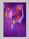 HANDMÅLAD Abstrakt Moderna,En panel Hang målad oljemålning