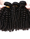 brasilianska kinky lockigt jungfru hår afro kinky lockigt hår 3 buntar mycket brasilianskt jungfru hår mänskliga hårförlängningar