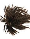 perruque brune 10cm haute temperature de couleur fil fleur bourgeon 2/30