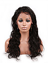 evawigs brasilianska humana jungfru peruker 20inch stora löst våg peruker människohår spetsar peruker