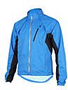 TASDAN® Veste de Cyclisme Homme Manches longues VeloEtanche / Respirable / Pare-vent / Permeabilite a l\'humidite / Zip etanche / Bandes