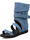 Homme-Mariage / Exterieure / Habille / Decontracte / Soiree & Evenement-Noir / Bleu / Blanc-Talon Compense-ConfortToile de jean