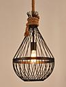 Lampe suspendue ,  Retro Peintures Fonctionnalite for Style mini MetalSalle de sejour Chambre a coucher Salle a manger Cuisine Salle de