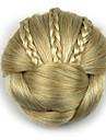 crepus profession d\'or boucles cheveux humains dentelle perruques chignons 1003