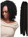crochet tresse havana mambo torsion afro extension de cheveux 12-24 pouces 4 # avec crochet