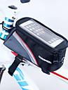 ROSWHEEL® Cykelväska 1.7LVäska till cykelramen Vattentät dragkedja Bärbar Fuktighetsskyddad Stötsäker Cykelväska PVC Nät Terylen