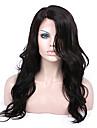8a remy människohår 8-26inches naturliga kropps vinkar eller spets front kändis stil peruker för kvinnor