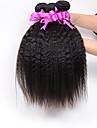 Tissages de cheveux humains Cheveux Bresiliens Droit 18 Mois 3 Pieces tissages de cheveux