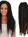 crochet tresse havana mambo extension de cheveux de torsion afro 12-24 pouces noir auburn clair avec crochet