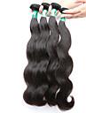 """4 st / lot 8 """"-30"""" malaysiska jungfru hår förkroppsligar vinkar människohår väft 100% obearbetat malaysiska remy hår väver"""