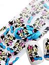1 Autocollant d\'art de clou Bouts  pour ongles entiers Bijoux pour ongles Autre decorations Bande dessinee Abstrait Adorable Mariage