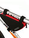 ROSWHEEL® Cykelväska 1.5LVäska till cykelramen Vattentät dragkedja Bärbar Fuktighetsskyddad Stötsäker Cykelväska PVC 600D Polyester