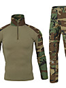 Sportif Unisexe Sport Tee-shirt Pantalon/Surpantalon Chemise Vetements de Compression/Sous maillot Collants Hauts/Tops BasRespirable
