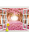 Paysage Stickers muraux Stickers avion / Stickers muraux 3D Stickers muraux decoratifs,PVC Materiel Amovible Decoration d\'interieurWall