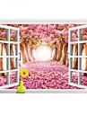 Peisaj Perete Postituri Autocolante perete plane / 3D Acțibilduri de Perete Autocolante de Perete Decorative,PVC Material DetașabilPagina
