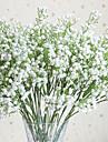 1 Gren Polyester Plast Brudslöja Bordsblomma Konstgjorda blommor 48(18.8\'\')