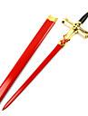 Vapen / Svärd Inspirerad av Seraph of the End mikaela Hyakuya Animé Cosplay Accessoarer Vapen Röd / Silver Trä Man