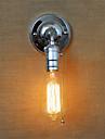 retro amerikansk lantstil vägglampor med en dragströmbrytare restaurang serveringar barbord hall balkong skicka en glödlampa