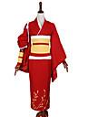Inspire par Autres Autres Anime Costumes Cosplay Costumes Cosplay Couleur PleineManteau / Veste Kimono / Brassard / Gants / Corset /