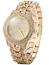 Women\'s Dress Watch Fashion Watch Casual Watch Quartz Casual Watch Imitation Diamond Stainless Steel BandVintage Sparkle Camouflage Charm