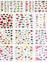 Nail Sticker Nail Art Bouts  pour ongles entiers / Autocollants de transfert de l\'eau / Bijoux pour ongles