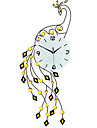 The Peacock Wall Clock Personality