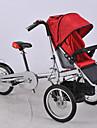 Hopfällbar Cykel Comfort Cyklar Cykelsport 16 inch Kvinnors Dubbel skivbroms ALUMINIUMLEGERING Stål Gul Blå Röd